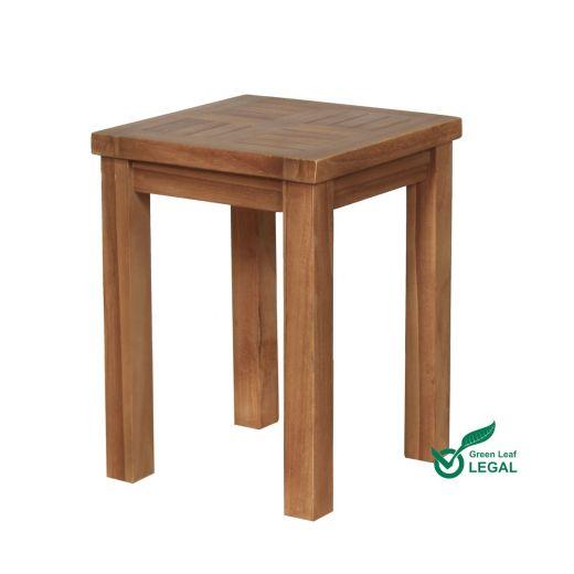 Teak Wooden Garden Wine Table