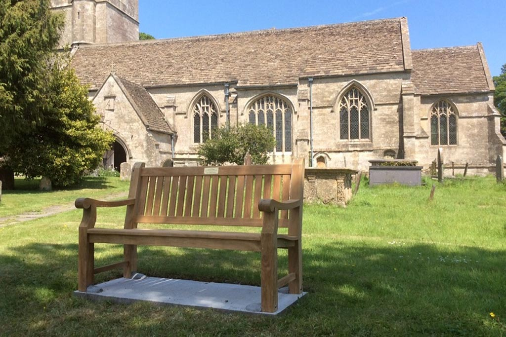 Memorial Benches for Local Churches